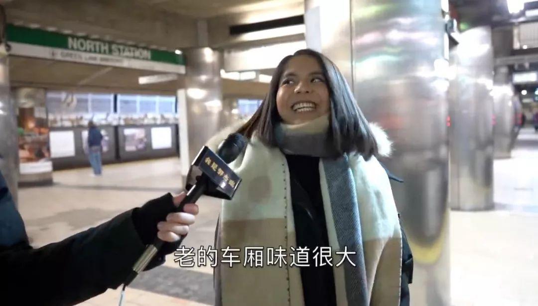 ▲乘客接受采访。(视频截图)