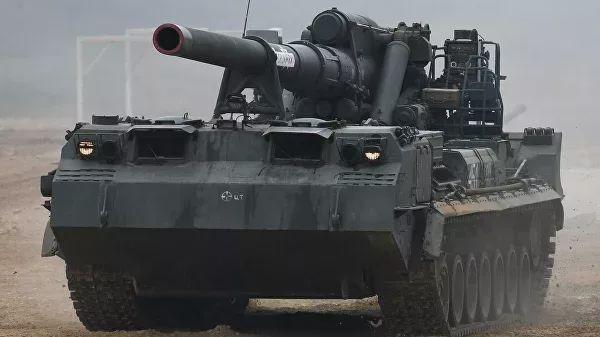 乌克兰卡脖子失败了:203毫米巨炮,俄军推出世界最大口径榴弹炮