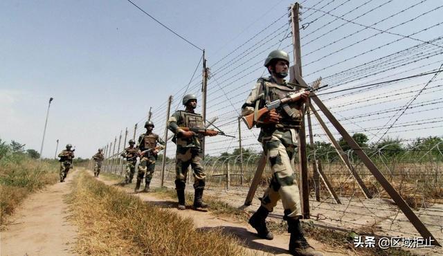 被巴铁特种兵打怕了?印度建2万掩体 前线配备高清摄像头