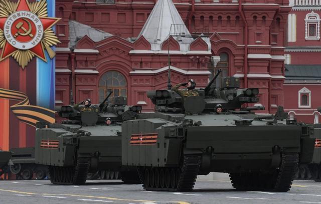 俄造车智慧:一个底盘四种用途 运兵防空反坦克全搞定