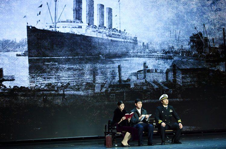 东直门中学等三校学生联袂演绎话剧《钱学森》 组图图片