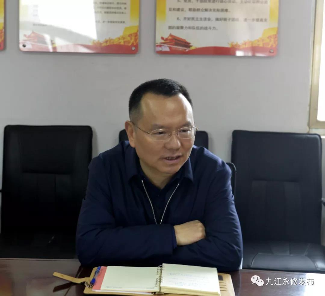 永修县委书记许斌到立新乡、马口镇调研脱贫攻坚工作