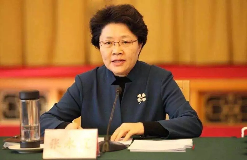 山东女厅官赴任甘肃金昌市委书记(图)图片