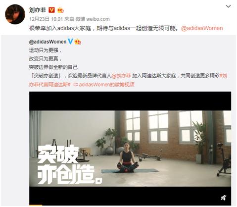 Adidas刚宣布新代言人刘亦菲 香港店就被暴徒砸了图片
