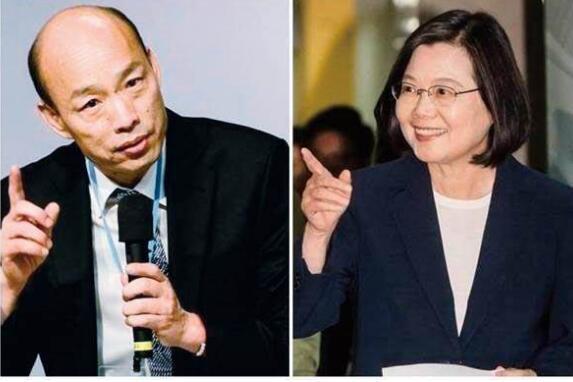 台湾大选政见会交锋 网友:韩国瑜治蔡