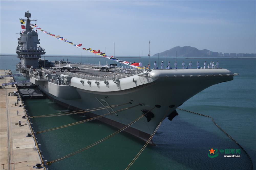 山东舰航母再过台湾海峡 军事专家这样说图片