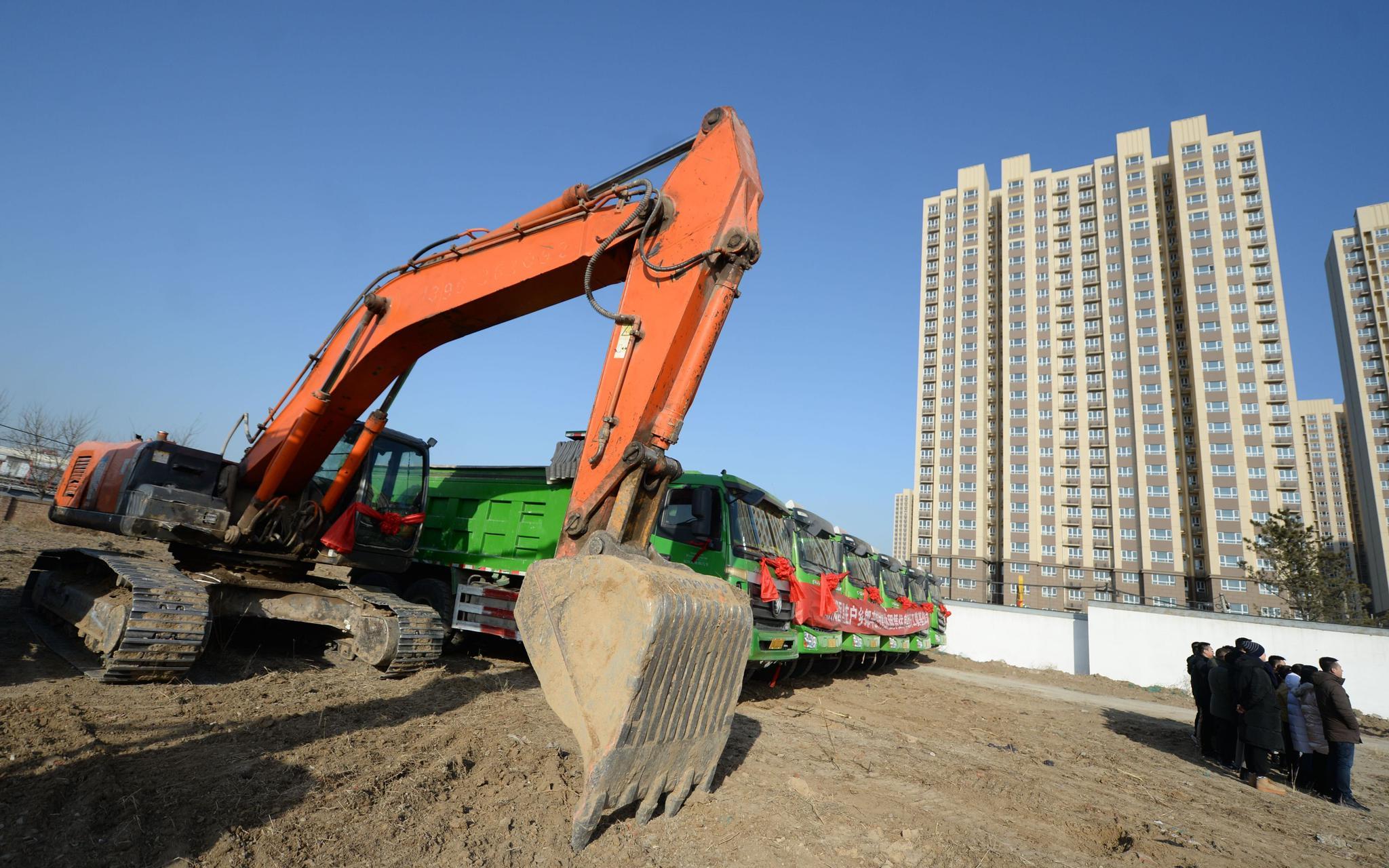 北京朝阳一集体土地租赁房开工,预计2022年对外出租图片