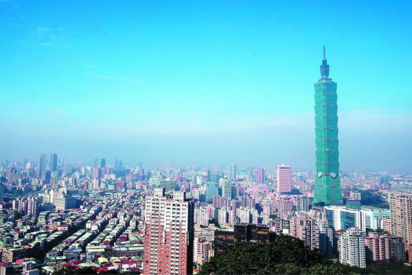 台北101大楼。(图:《联合报》)