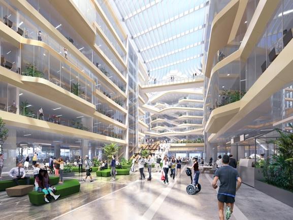 阿里巴巴北京总部园区正式奠基 计划于2024年建成图片
