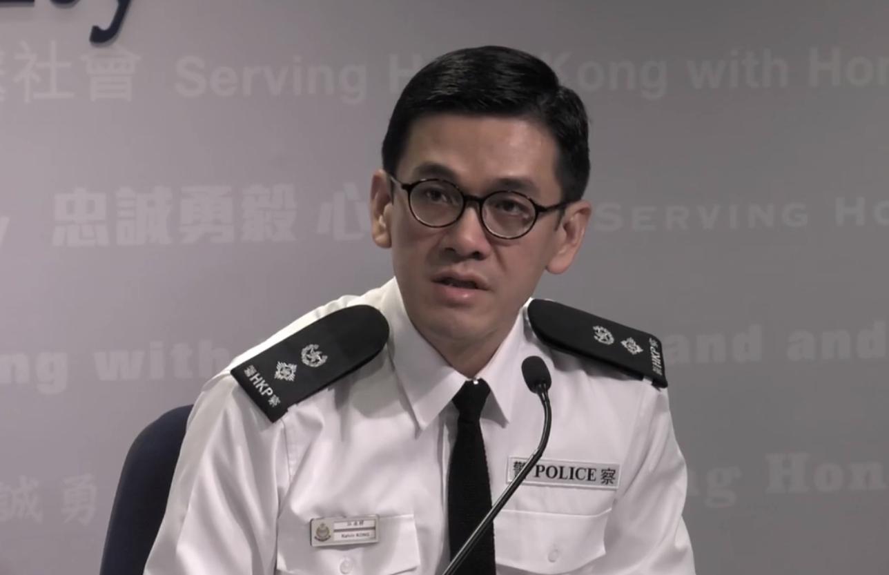 港警:周一至今共拘捕336人 年龄最小12岁图片