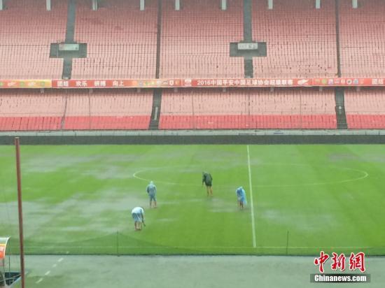 资料图:北京工人体育场本赛季中超结束后投入整修。 中新网  记者 王牧青 摄