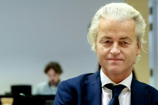 荷兰自由党主席威尔德斯 图自:法新社