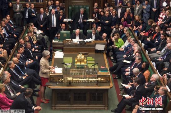 资料图:英国议会。