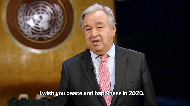 联合国秘书长致辞2020:青年是希望最大的来源