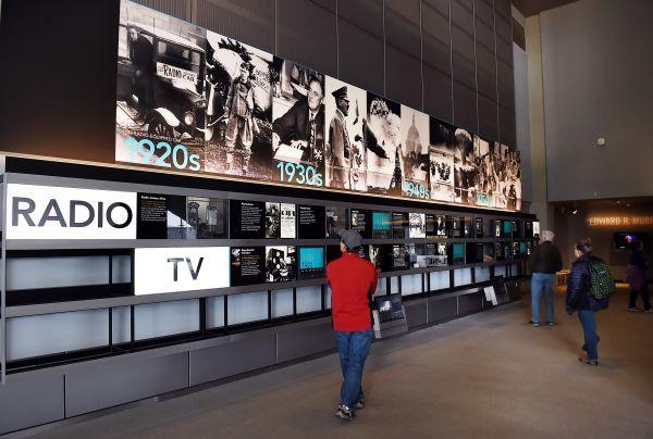 资料图片:华盛顿新闻博物馆(法新社)