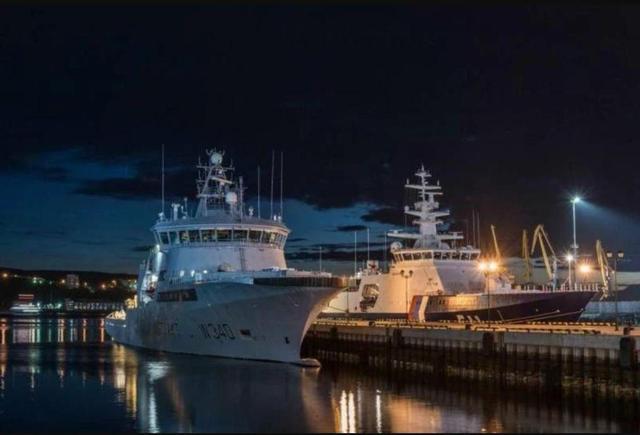 俄2700吨边防巡逻舰:游泳池桑拿浴房 堪比豪华游轮