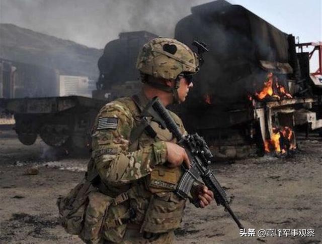 美军基地再遭轰炸,找到直接证据,报复空袭伊拉克政府军两个旅