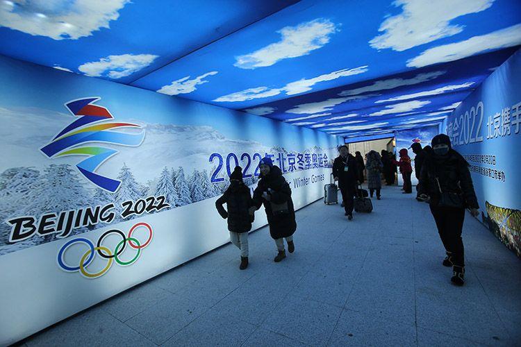 京张高铁太子城站迎来首批旅客 高铁开进了奥运村图片