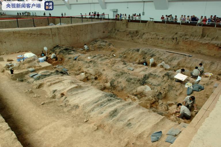 重大发现 秦兵马俑一号坑最新发掘陶俑220余件图片