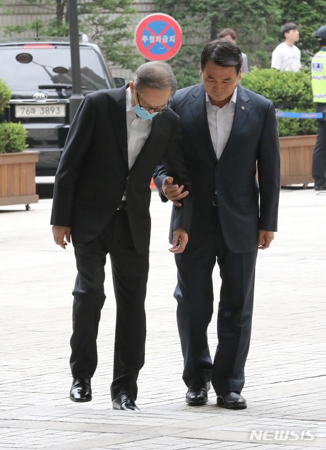 韩国前总统李明博(纽西斯通讯社)