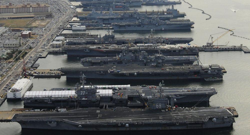 """美国海军舰队突然""""大裁员"""" 打脸特朗普"""