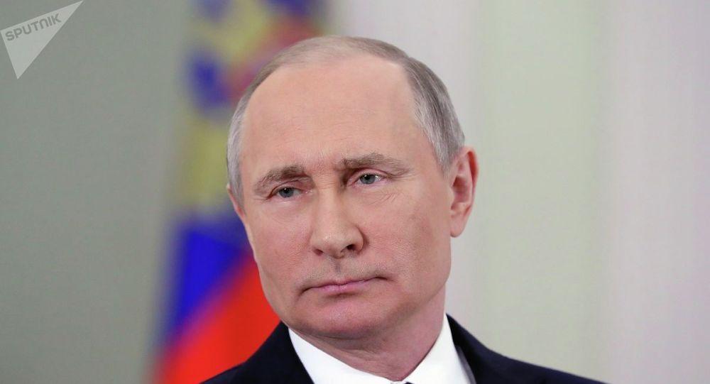 俄罗斯总统普京。(图源:俄罗斯卫星网)