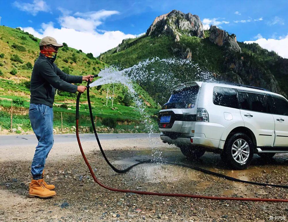 成熟可靠、越野强,三菱帕杰罗提车进藏分享,油耗仅11升?