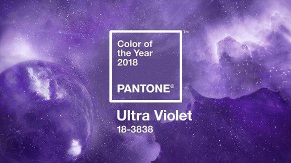 2018年度色彩:紫外光