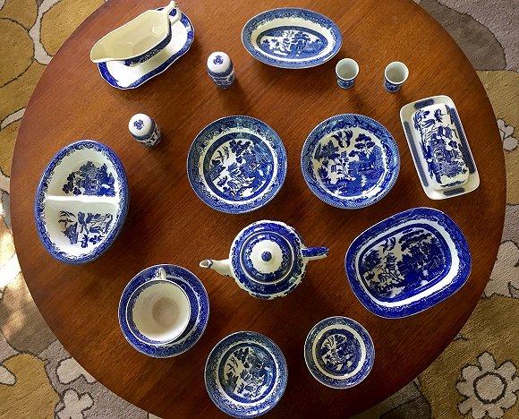 青花瓷中的蓝也是经典蓝