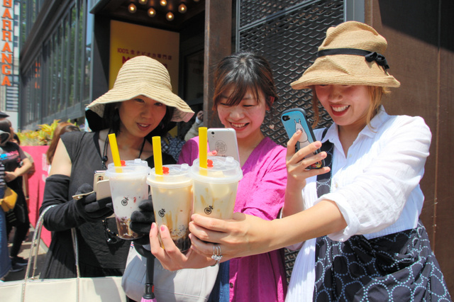 真爱!珍珠奶茶今年在日本有多火