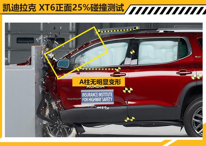凯迪拉克XT6碰撞测试解析 乘员保护充分