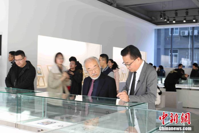 中日青少年奥林匹克漫画交流展暨中日漫画教育高端论坛在北京举行