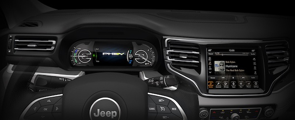试驾 Jeep指挥官PHEV:低油耗Jeep也有奔放的心