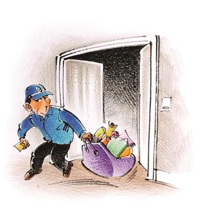 大楼保安监守自盗 网上销赃被识破