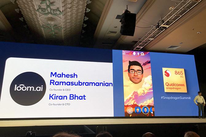 Loom.ai 3D虚拟形象平台重磅亮相2019年Qualcomm骁龙技术峰会