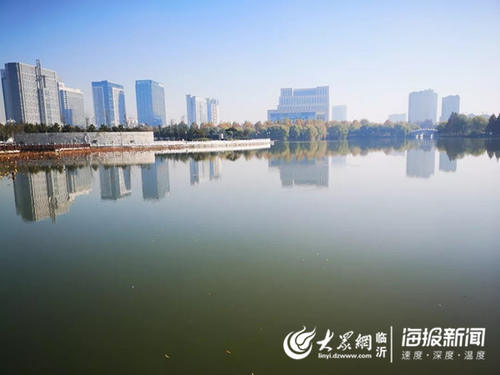 科学治水,生态补水!临沂五洲湖水系实现清水长流