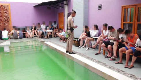 54名中国人涉嫌诈骗同胞在泰国被逮捕,所有人护照均不知去向