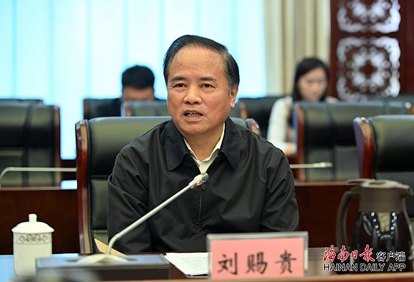 刘赐贵:海口要充分发挥省会中心城市的带头引领示范作用