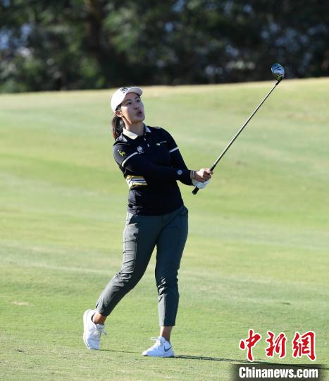 中国女子高尔夫公开赛第三轮林希