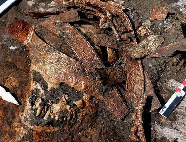 """俄罗斯墓穴挖出2400年前的""""亚马逊女战士"""",双腿以骑马姿势下葬"""