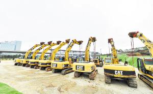 空港商务区3条主干道启动建设