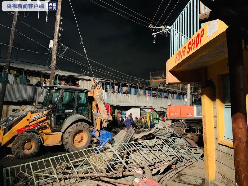 肯尼亚首都内罗毕一房屋倒塌 至少4人死亡多人被困