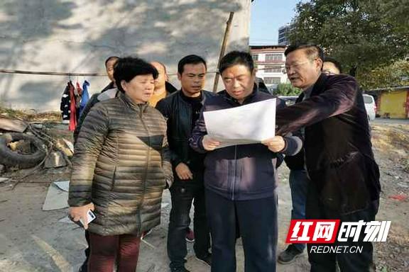 道县:李天明调研重点项目建设