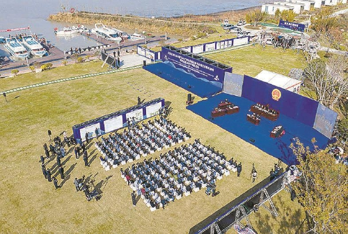 江苏扬州:高邮湖特大电捕鱼民事公益诉讼案宣判