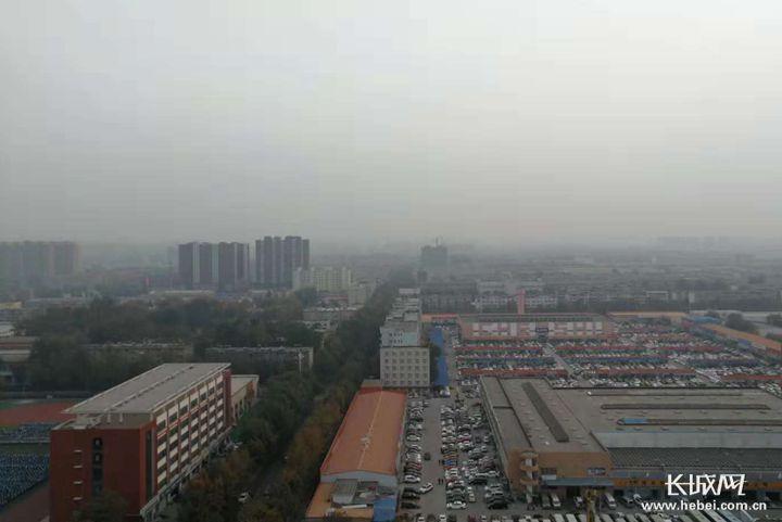大雾红色预警!未来三天河北平原