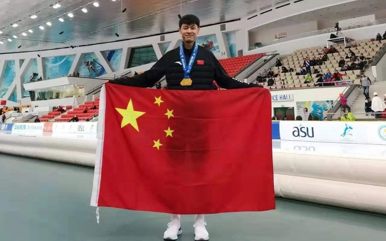 首夺世界杯1500米金牌,宁忠岩改写中国速滑历史