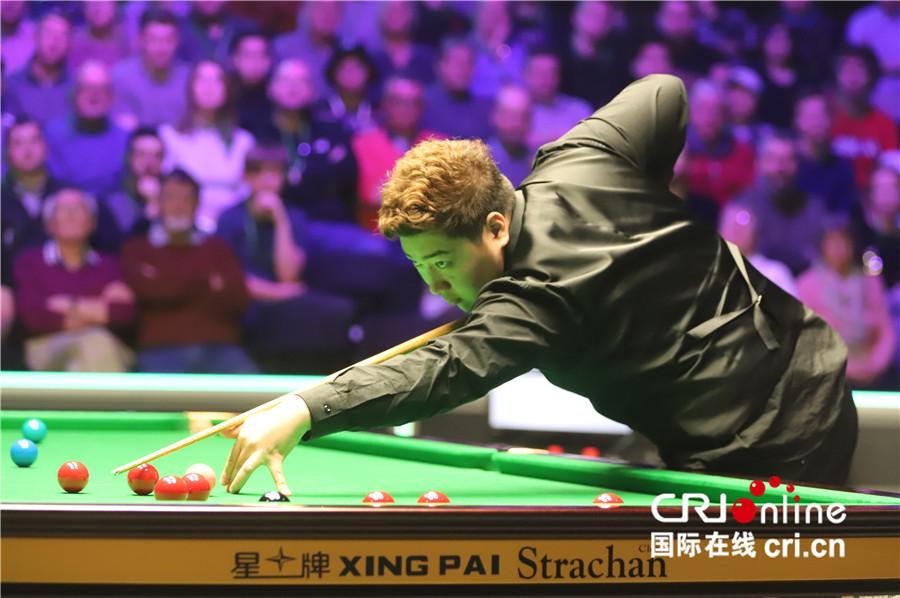 丁俊晖战胜19岁中国小将 第三次晋级英锦赛决赛