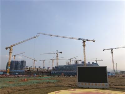 大运会主体育场预计本月10日主体封顶