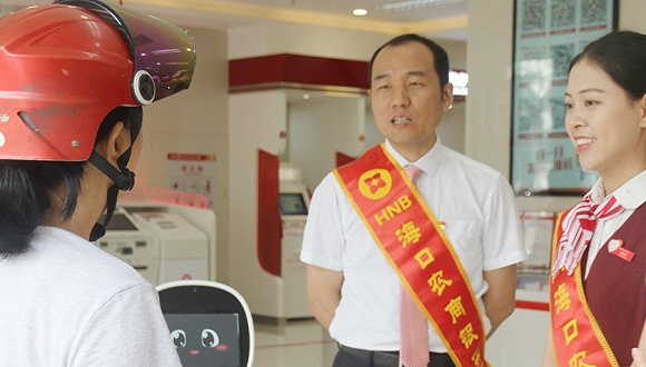 """对话海口农商银行董事长吴敏:""""小""""银行如何挤进""""大""""榜单?"""