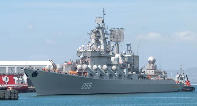 """俄罗斯""""光荣""""级巡洋舰:来看看上帝视角下的尺寸对比"""